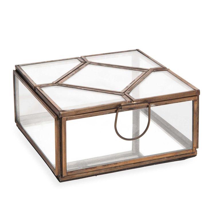 bo te bijoux en verre et m tal kimera chambre. Black Bedroom Furniture Sets. Home Design Ideas