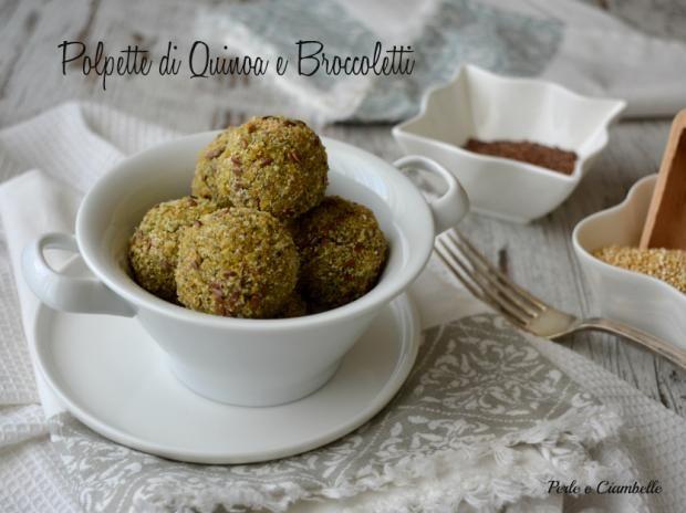 Foto Polpette di quinoa e broccoletti con curcuma e semi di lino