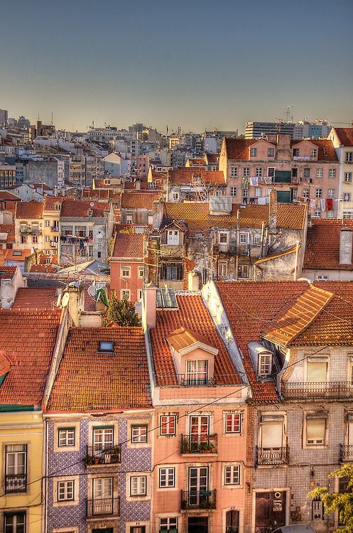 True colors - #Lisbon old district #Portugal #PortugalHasItALL