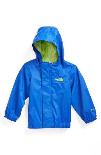 2f855af939d65 The North Face  Tailout  Waterproof Hooded Rain Jacket (Baby Boys)   babyrainjacket