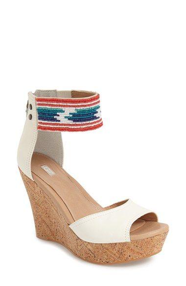 UGG® 'Jacinda' Beaded Sandal (Women)