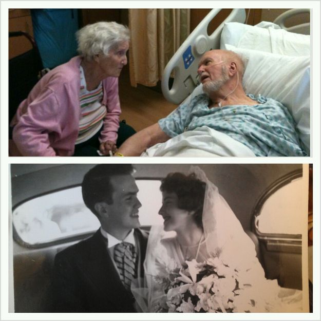 60 years of being by each other's side: | 25 Pictures That Will Make You Believe In True Love