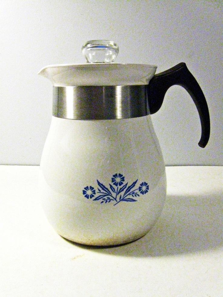 Vintage coffee pot from the 1970s.