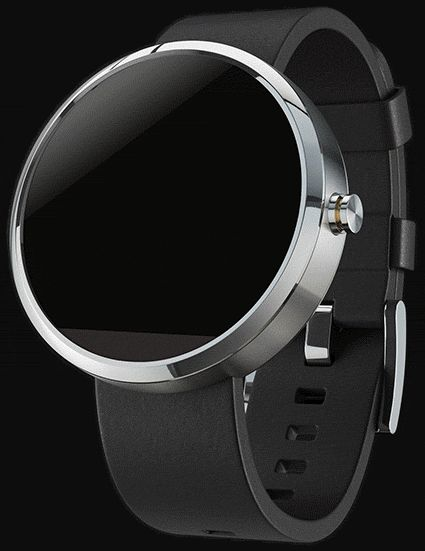 moto360 - Smart Watch Concept by Denny Moritz, via Behance