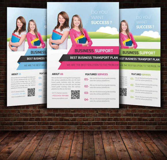 Best Flyer Images On   Flyer Template Education And