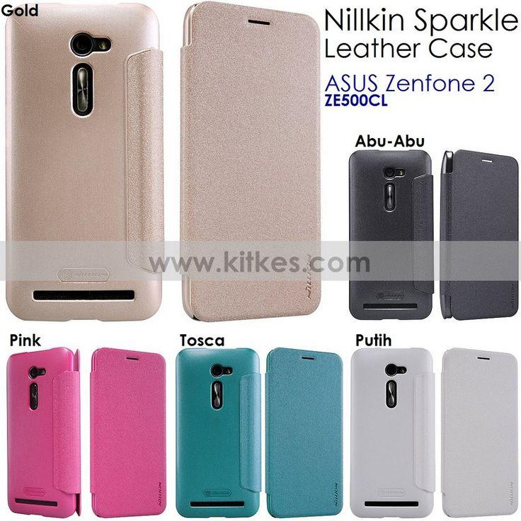 Nillkin Sparkle Leather Case ASUS Zenfone 2 ( ZE500CL - 5.0 Inch ) - Rp 125.000 - kitkes.com