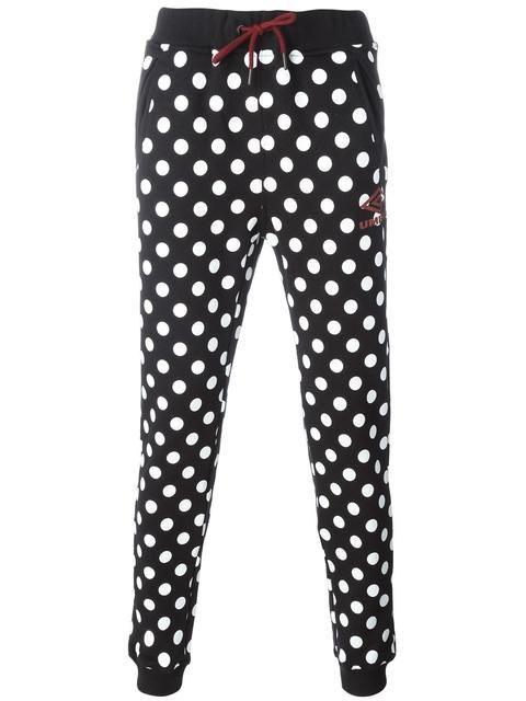 HOUSE OF HOLLAND Polka Dot Umbro Sweatpants. #houseofholland #cloth #sweatpants