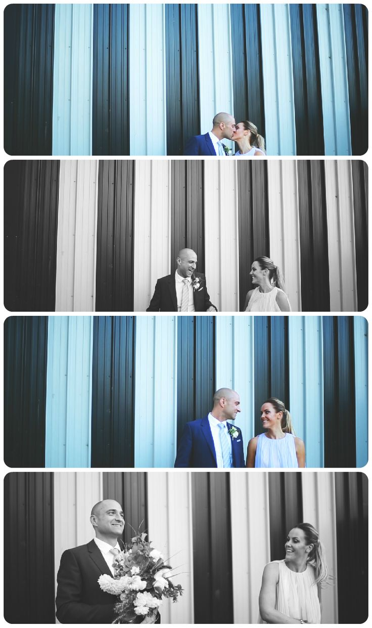 LOVE these shots of Liz & Joost, an interesting wall and a happy couple and there you have it! Check out their wedding video here > https://vimeo.com/91703260