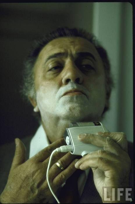 Federico Fellini. Photo: Carlo Bavagnoli