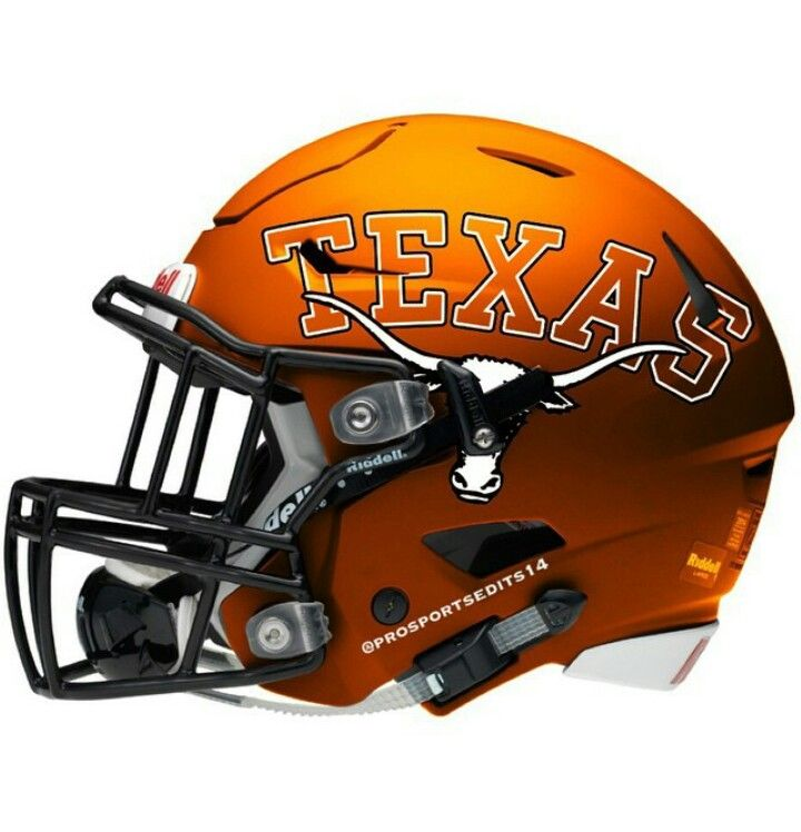 Texas Longhorns Riddell SpeedFlex concept football helmet