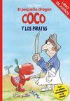 EL PEQUEÑO DRAGÓN COCO Y LOS PIRATAS. Libro de juegos