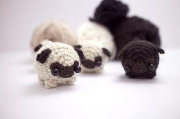 Amigurumi Pug Patron : 1000+ images about Crochet Animals on Pinterest Free ...