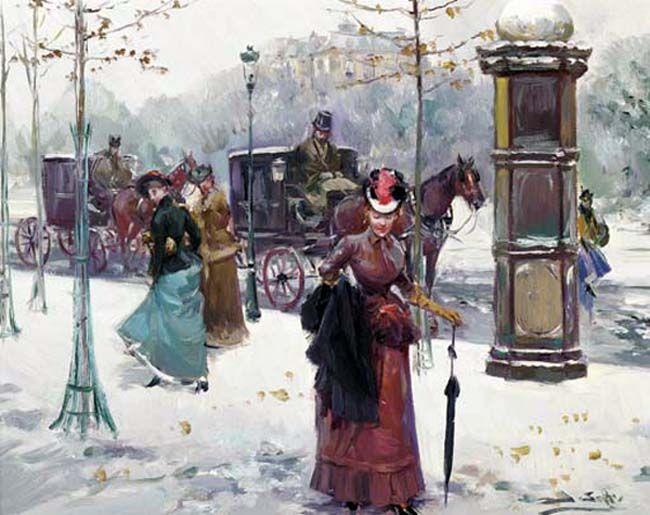 Прогулка по Парижу... Juan Soler. Обсуждение на LiveInternet - Российский Сервис Онлайн-Дневников