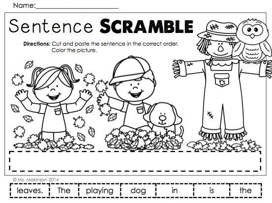 All Worksheets Sentence Scramble Worksheets For Grade 1 – Sentence Scramble Worksheets