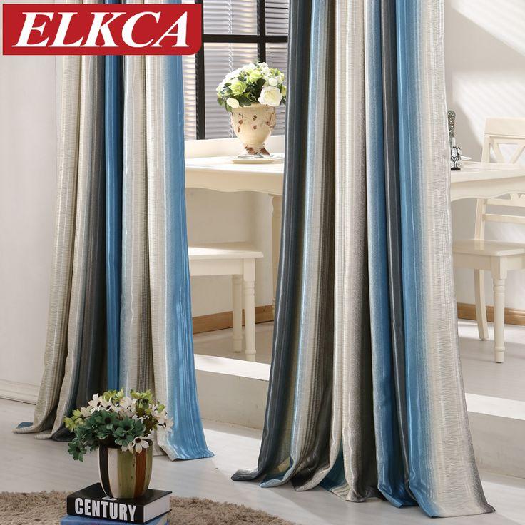 cheap unid rayas modernas cortinas para el dormitorio elegante ventana de cortinas para la sala