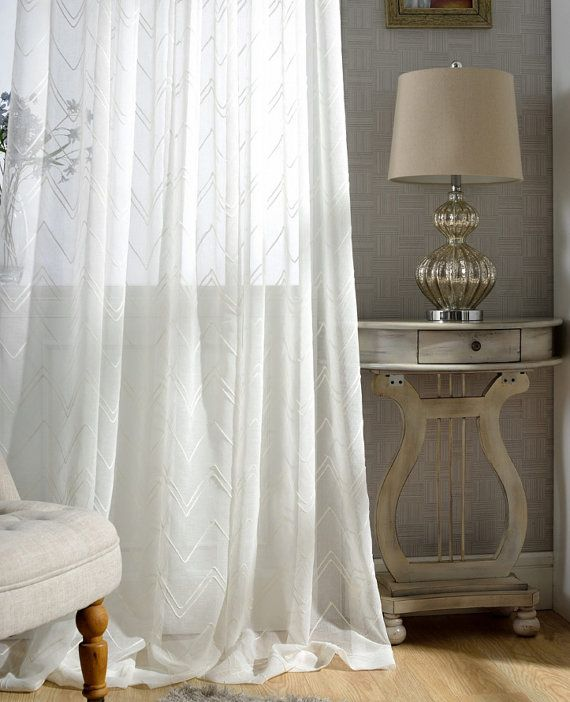 white p drapes contemporary sheer room curtain living for