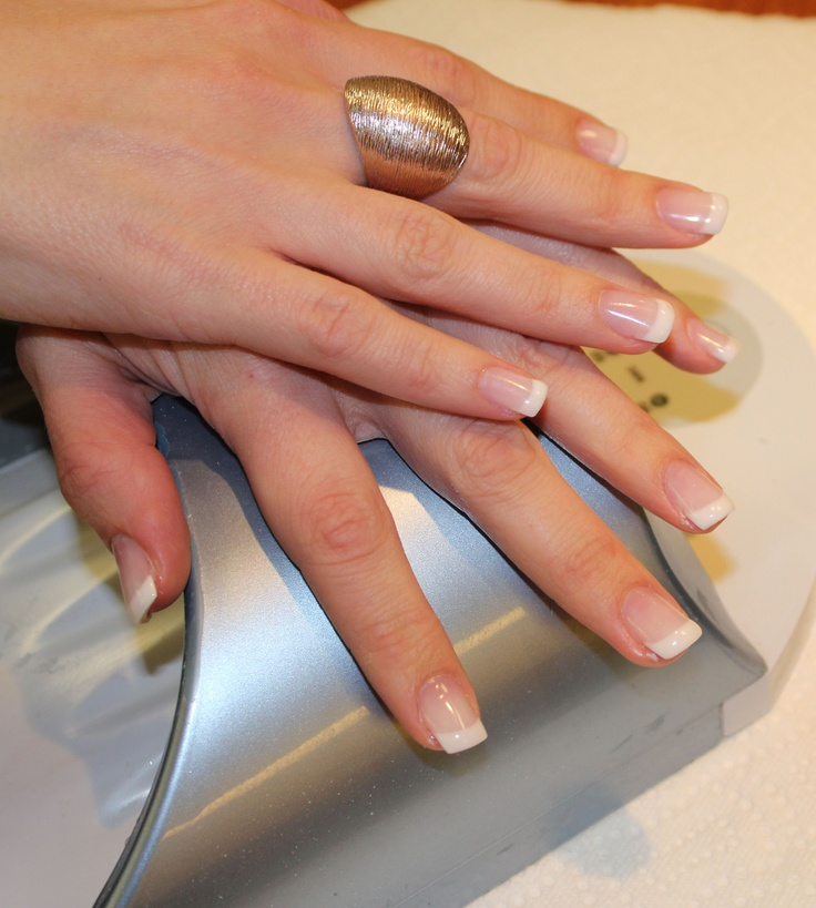 LCN Nails - Perfect french manicure that lasts up to 3 weeks.