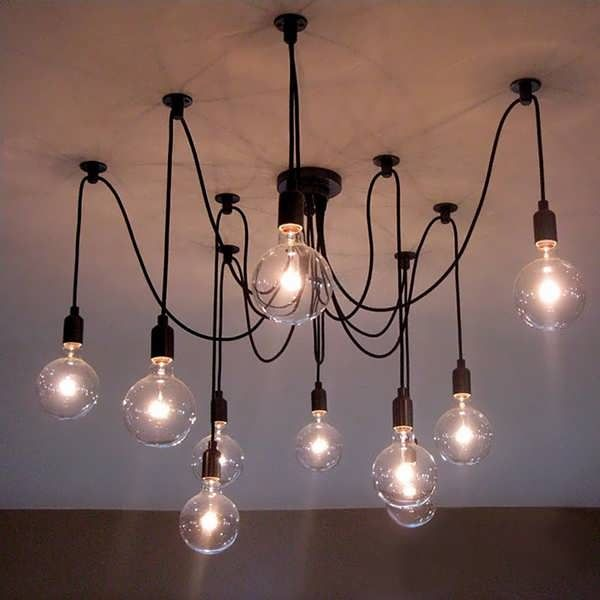 10 Head Industrial Vintage Edison Chandelier Pendant Ceiling Lamp Fixture  Worldwide delivery. Original best quality product for 70% of it's real price. Buying this product is extra profitable, because we have good production source. 1 day products dispatch from warehouse. Fast &...