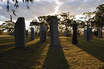 Standing Stones, Glen Innes, NSW, Australia
