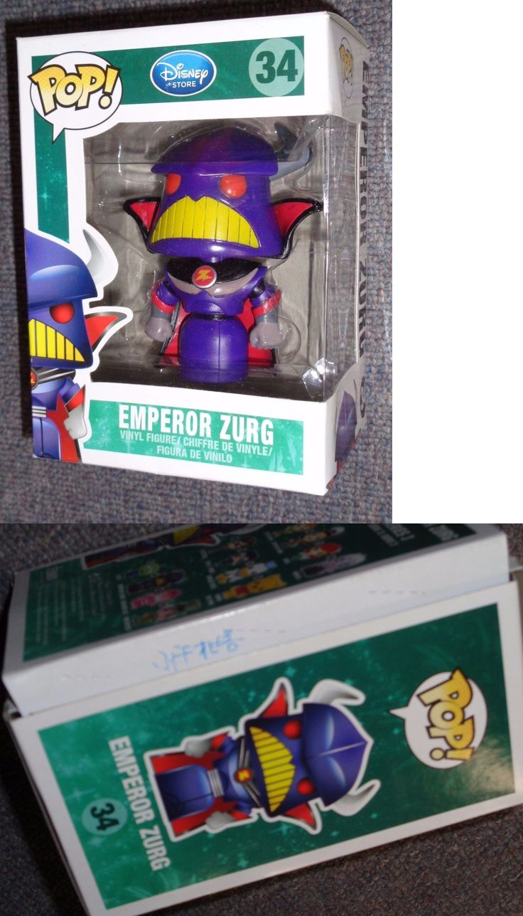 Toy Story 19223: Pop! Emperor Zurg Figure -Disney Store #34! Toy Story Emperor Zurg -> BUY IT NOW ONLY: $69.99 on eBay!