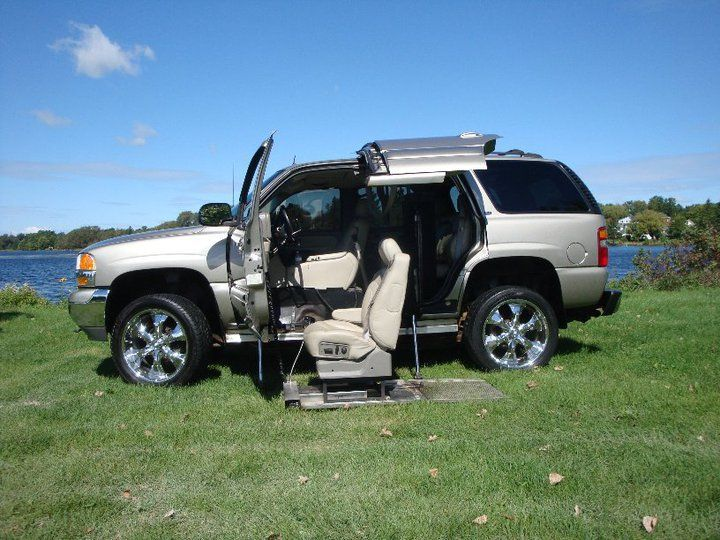 2002 GMC Wheelchair 4x4 Yukon SUV. >>> See it. Believe it. Do it. Watch thousands of SCI videos at SPINALpedia.com