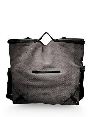 Jerome Dreyfuss Large Leather Bag - Jerome Dreyfuss Handbags Men - thecorner.com