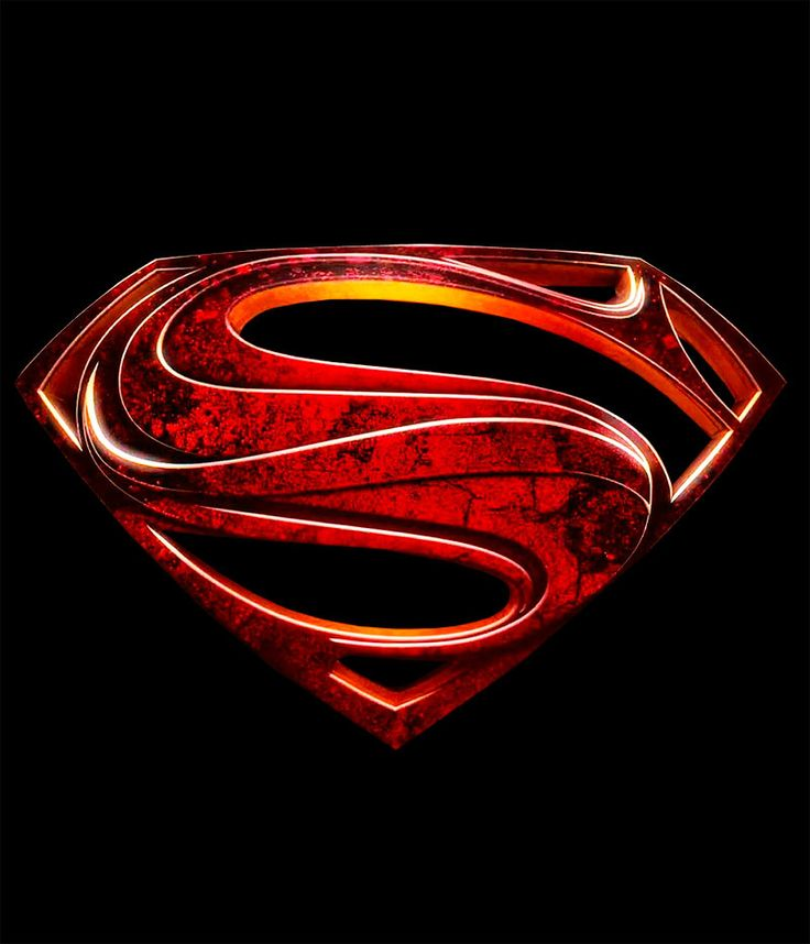 Camiseta Superman. Logo Man of Steel