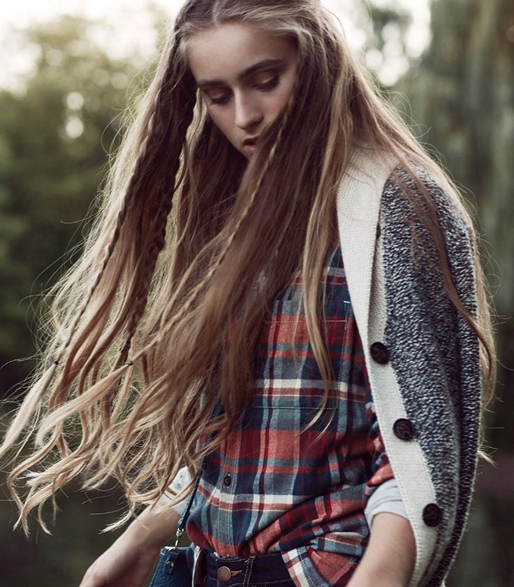 Roots Varley Plaid Shirt with Cabin Cardigan