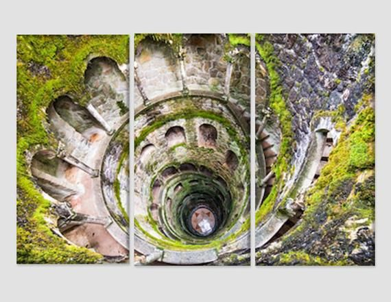 Sintra In Portugal Canvas Print Portugal Wall Art Architecture Landscapes Ancient Lisbon Abstract Wall Decor Lisbon Panorama Lisbon Print Art Panoramic Canvas Print Art And Architecture