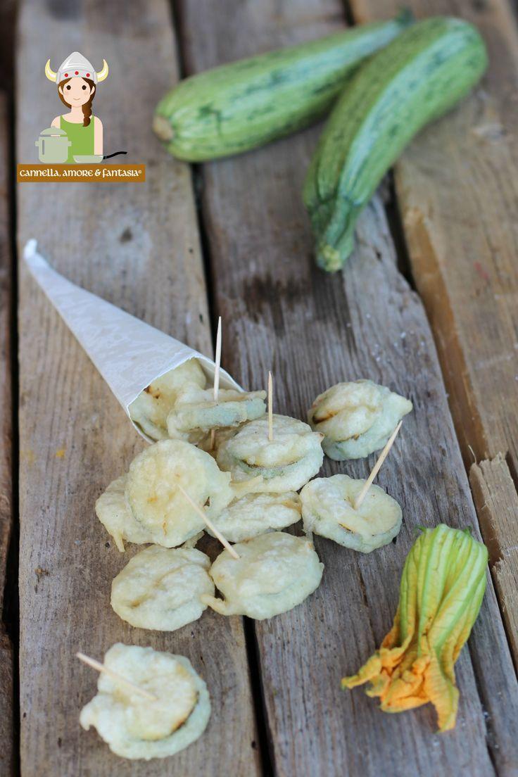 Zucchine pastellate ricetta finger food