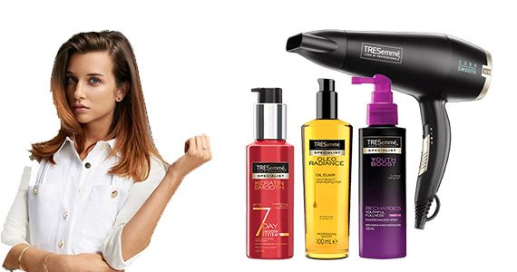 Win a TRESemme Personalised Haircare Package