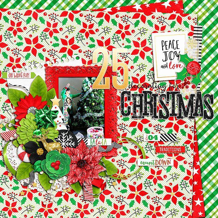 Decorating for Christmas - Scrapbook.com