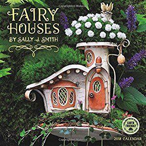 Fairy Houses 2018 Mini Wall Calendar