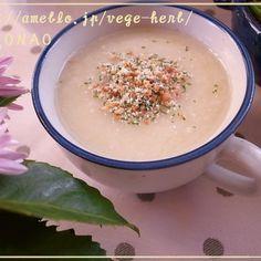 余った白菜の芯使いきりポタージュスープ♪トッピングが美味しい白菜スープ (^^)食べ過ぎちゃうクリスマスやおせちと一緒に♪
