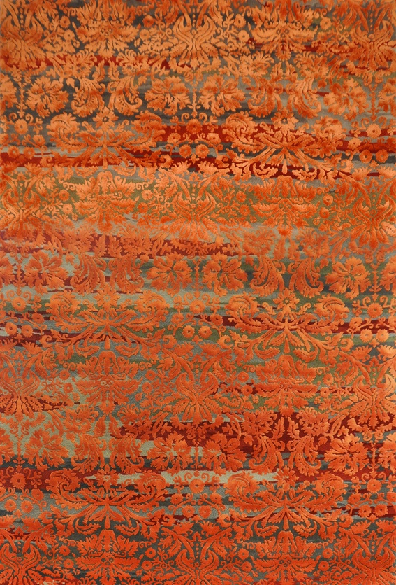 BROCADE by Julia Gentil from the TSAR ROYALE Collection 2012. NZ Wool and Bamboo Silk
