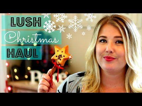 Lush Christmas Haul | Jessica Pearce - YouTube