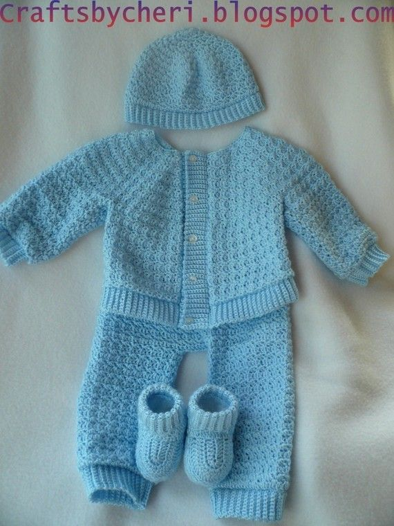 Cheri Crochet Original Baby PatternNewborn to 3 by craftsbycheri, $7.99