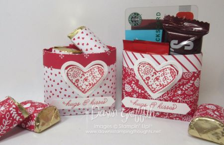 Sending Love Valentine Candy Bag video . | Dawn's Stamping Thoughts | Bloglovin'