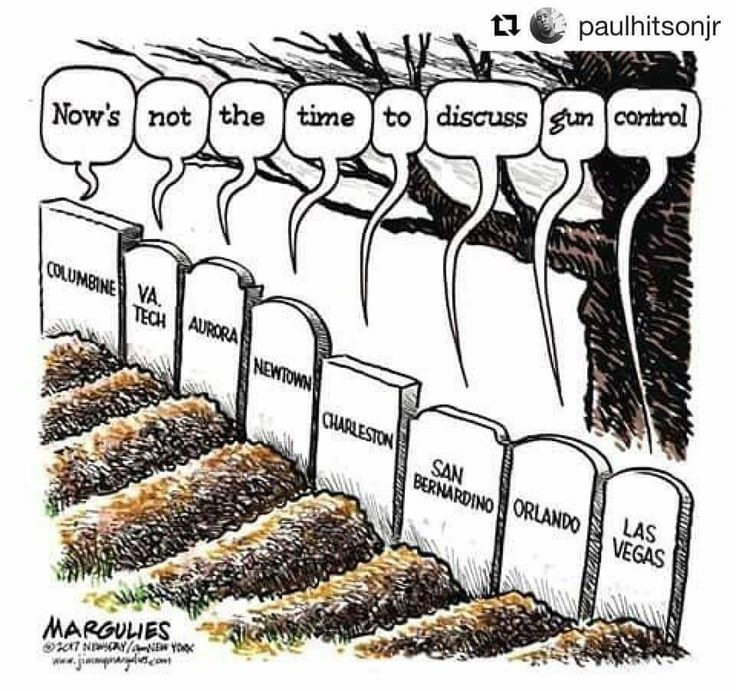 It's never the time according to the NRA and Republicans. First the country needs to grieve, then it needs to heal, then it needs to move on. And the NRA says merely talking about regulating weapons of mass lethality is a hate speech....but inciting fear to sell guns isn't