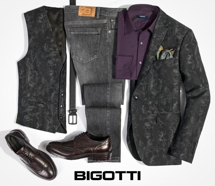 The #blazer-#waistcoat and #jeans #combination – #perfect for a #NewYearsEve #party in #club. www.bigotti.ro  #mensfashion #menswear #mensclothing #outfits #ootdmen #moda #barbati #tinute #petrecere #Revelion #follow #fashiontag #mensstyle