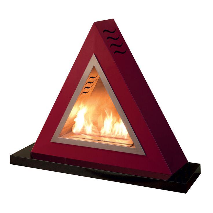 Articolo: AR01-RossoArrowè un biocamino di design da incasso o da terra rosso, realizzato in metallo e acciaio. Con la sua forma triangolare avvererà il tuo sogno: portare in casa la meraviglia di un focolare acceso, in modo sicuro, elegante e poco invasivo. Il bello dei biocamini è che possono essere posizionati in qualunque punto della casa: in salotto ma anche in cucina, in camera da letto, perfino in bagno.Lo schienale presenta una rientranza per non trasmettere calore alla parete…