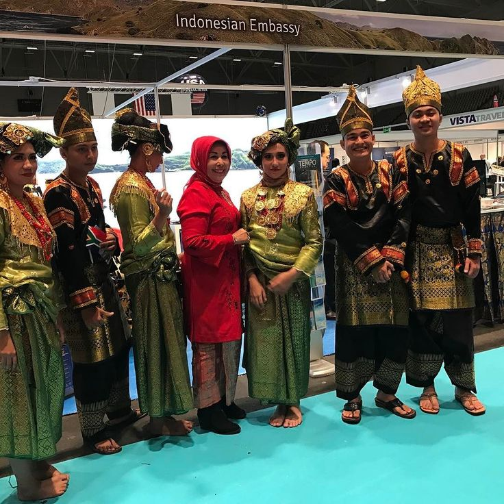 Very nice costumes from the people working at the Indonesian Embassy. #reise #ferie #reiselivsmessen2017 #TravelMatch2017