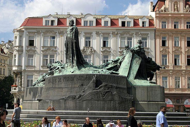 Plaza Jan hus - Escultura - Praga.
