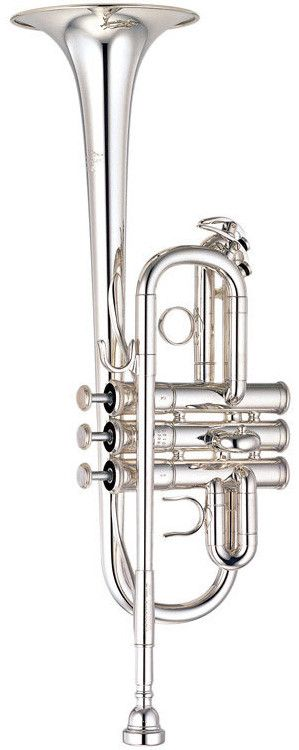 Comfort, response and ease of play compose this professional Eb/D trumpet. Yamaha high-pitched trumpets feature a brilliant tone with crisp clear attacks and excellent control in the high register. Th