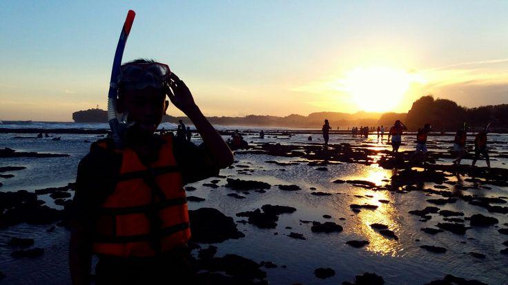 BEATIFUL INDONESIA VISIT INDONESIA VISIT JOGJA #JOGJA_INDAH  #YOGYAKARTA_SEA #SADRANAN_SEA