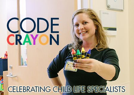 Code Crayon - the role of a child life specialist