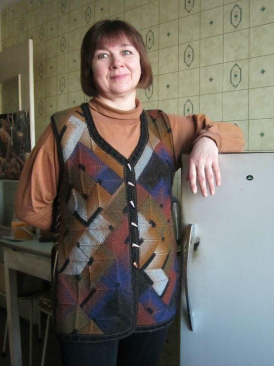 Gallery.ru / Фото #86 - Жилеты, кардиганы. - Jollga