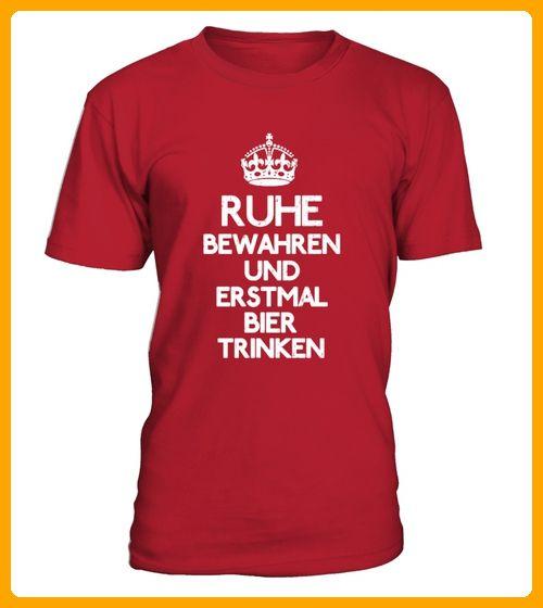Ruhe bewahren erstmal Bier trinken - Oktoberfest shirts (*Partner-Link)