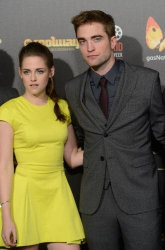 Kristen Stewart and Rob Pattinson