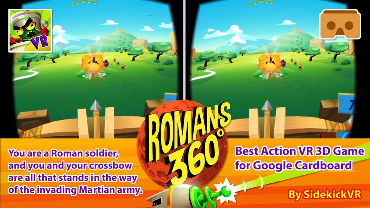 #VR #VRGames #Drone #Gaming Romans From Mars 360 - Best Action VR 3D Game for Google Cardboard - Android & iOS #pop2review, #Romans From Mars 360, 3D SBS, 3d vr, 3dsbs, action game for google cardboard, android vr, best action for google cardboard, best game, Best VR game, free game for google cardboard, gear vr, google cardboard, iOS VR, Oculus, oculus rift, Romans from Mars, top game, top vr game, virtual reality, vr for android, vr for ios, vr videos ##Pop2Review ##Roman